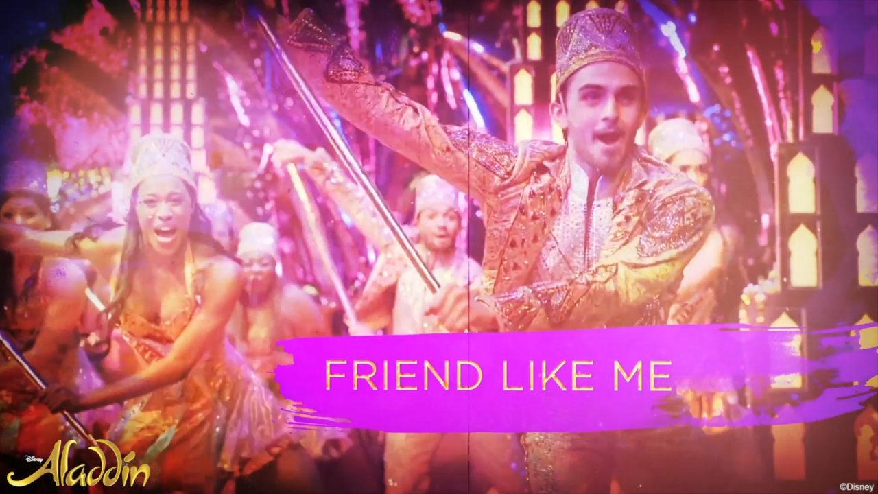 MUSIC SERIES: FRIEND LIKE ME