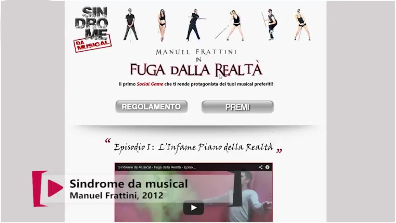 SOCIAL GAME - FUGA DALLA REALTÀ