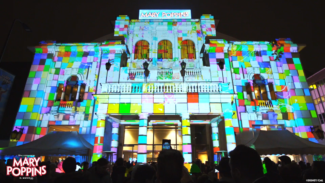 VIDEO MAPPING @TEATRO NAZIONALE