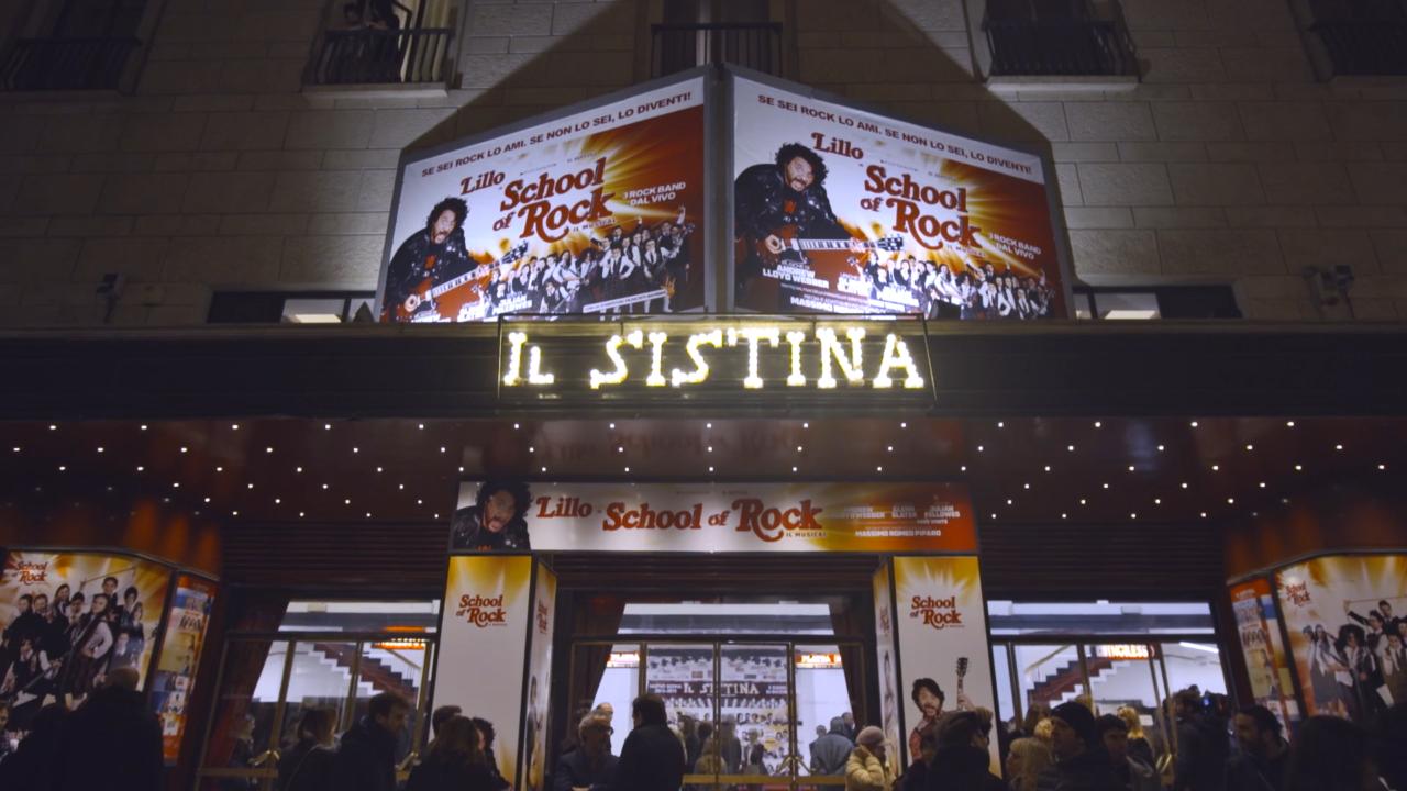 OPENING NIGHT AL SISTINA