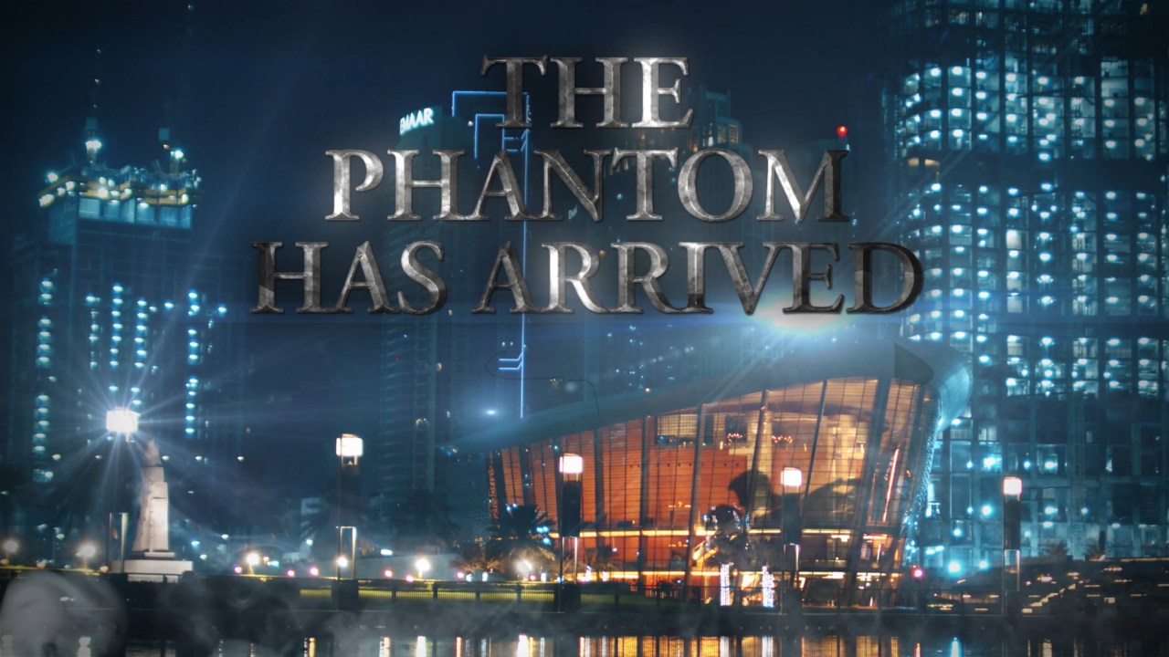 THE PHANTOM HAS ARRIVED IN DUBAI